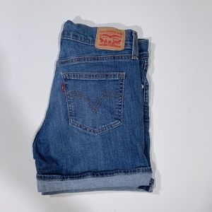 Levi's | Mid-Length Denim Shorts